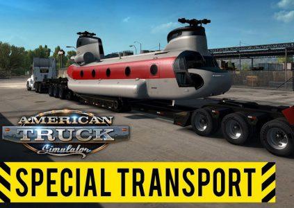 American Truck Simulator Ц Special Transport: размер имеет значение
