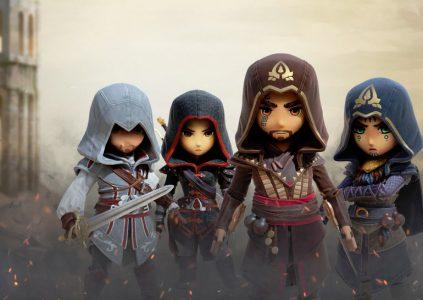 Assassin's Creed Rebellion: кавайные убийцы