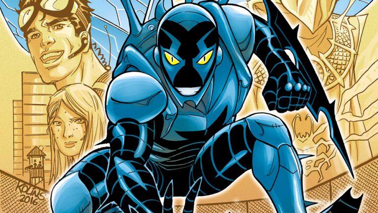 """Студия Warner Bros. начала работу над супергеройским фильмом Blue Beetle / """"Синий Жук"""" по комиксам DC Comics"""