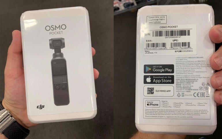 Миниатюрная камера с интегрированным стабилизатором DJI Osmo Pocket засветилась на фотографиях накануне презентации