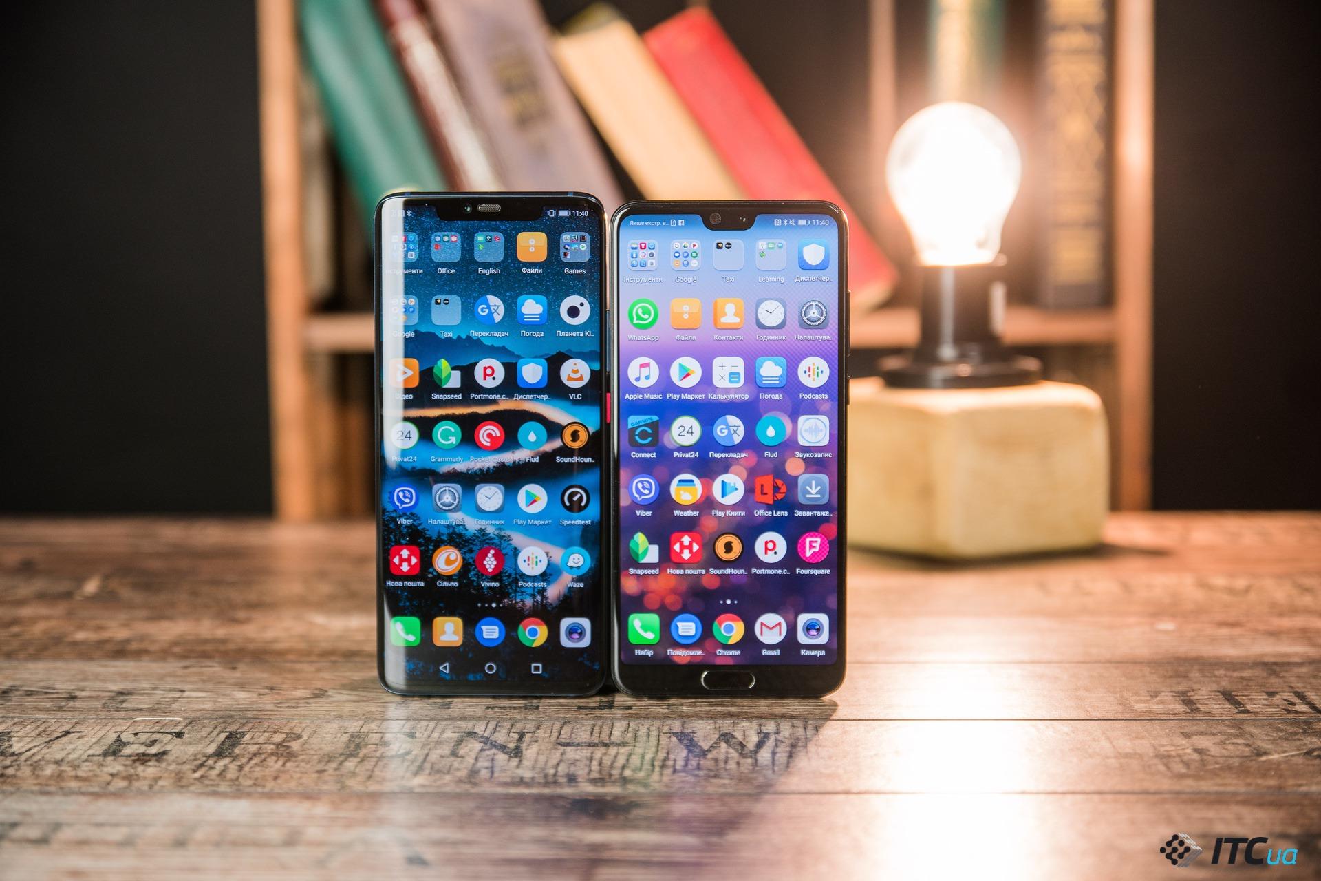 Первый взгляд на Huawei Mate 20 Pro