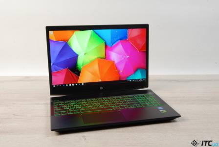 Обзор игрового ноутбука HP Pavillion Gaming 15 (2018)