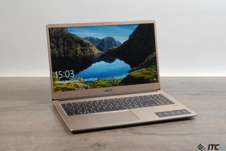 Обзор ноутбука Acer Swift 3 (SF315-52G)