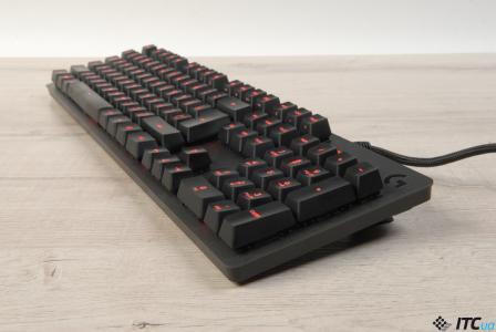 Обзор игровой механической клавиатуры Logitech G413 Carbon