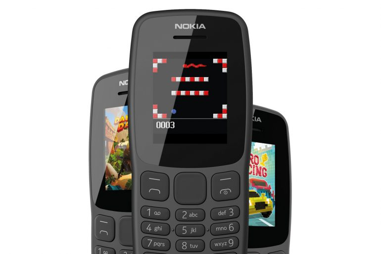 """HMD Global представила кнопочный телефон Nokia 106 с 1,8-дюймовым экраном, 4 МБ ОЗУ, предустановленной """"Змейкой"""" и ценником $20"""