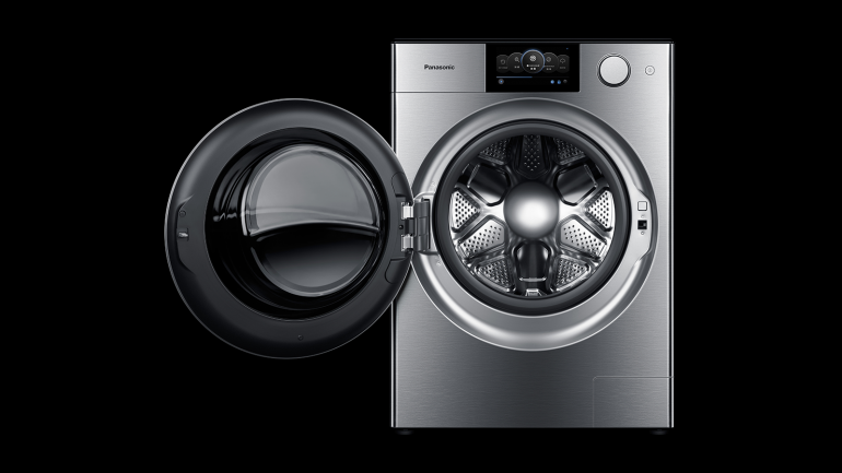 Porsche разработала для Panasonic дизайн стиральной машины