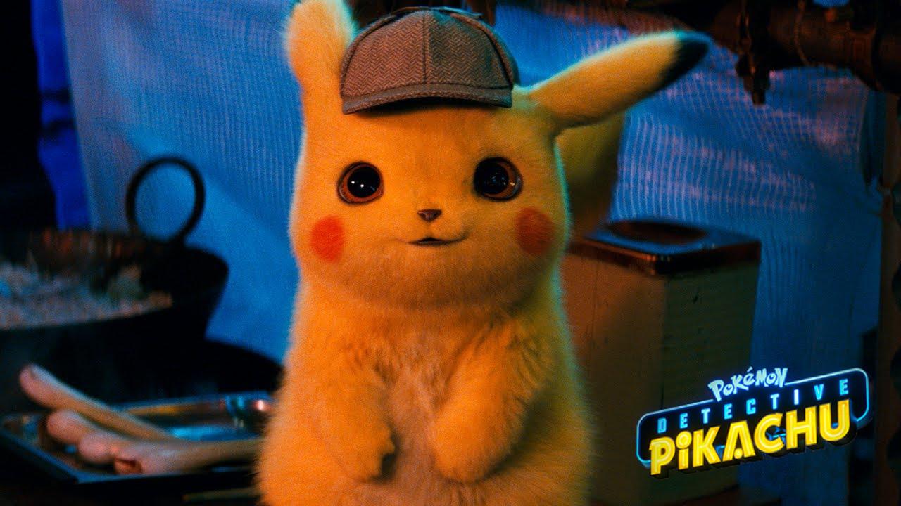 Смотрите 1-ый трейлер Detective Pikachu с«Дэдпулом» вроли Пикачу