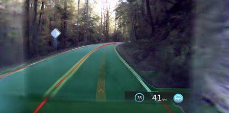 Видео дня: Панорамное 360-градусное видео поездки «глазами автопилота» электромобиля Tesla