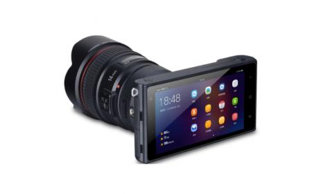 Yongnuo YN450 – беззеркальная камера на базе Android, которая позволяет устанавливать объективы Canon EF