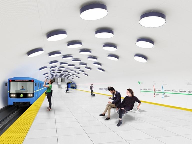 «Киевский метрополитен» и «Киевметрострой» подписали договор на продление метро до Виноградаря