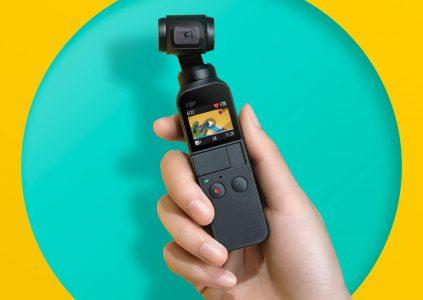 DJI официально представила компактную камеру Osmo Pocket с интегрированным механическим стабилизатором и ценой $349