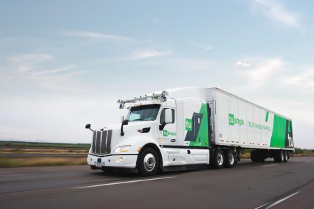 Американский стартап с китайскими корнями TuSimple провел испытания беспилотных грузовиков на дорогах США