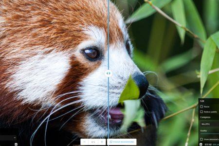 Инструмент Squoosh от Google позволяет оптимизировать изображения прямо в браузере