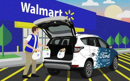 Walmart совместно с Ford запустили пилотный проект по доставке товаров беспилотными автомобилями