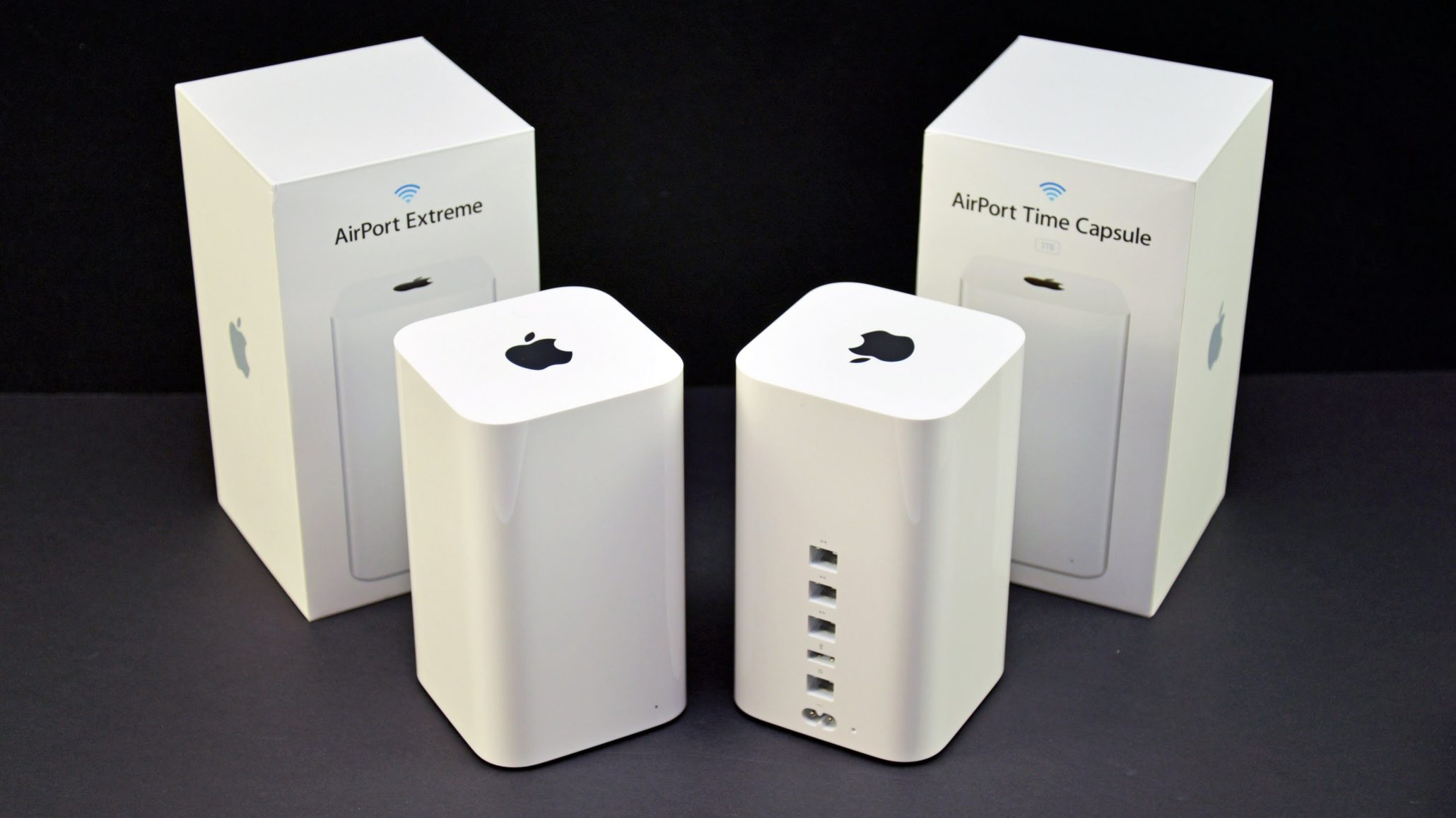 Apple прекратила продажи несколько устаревших маршрутизаторов AirPort иTime Capsule