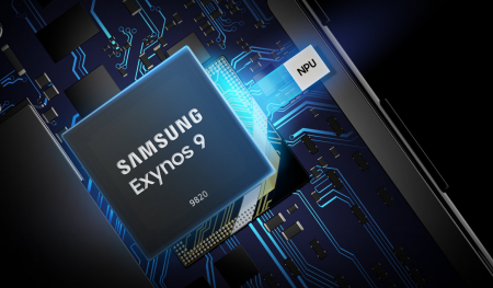 Smartphone Samsung Galaxy S10 Plus based on SoC Exynos 9820 is spelled in the test AnTuTu