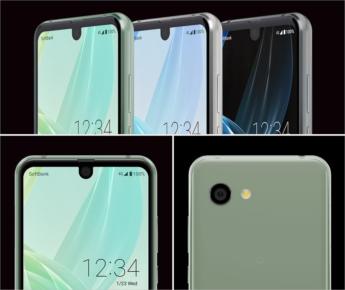Японцы представили смартфон сразу с 2-мя вырезами