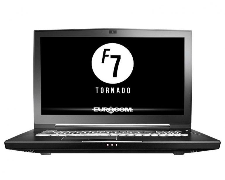 Eurocom анонсировала мобильную рабочую станцию Tornado F7W на базе компонентов, типичных для топовых настольных систем