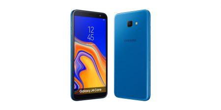 Samsung представила Galaxy J4 Core – свой второй бюджетный смартфон с ОС Android Go