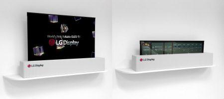 Bloomberg: LG намерена выпустить первые сворачиваемые телевизоры уже в следующем году