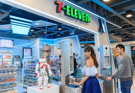В Японии открылся магазин, в котором можно расплатиться за покупки при помощи технологии распознавания лиц