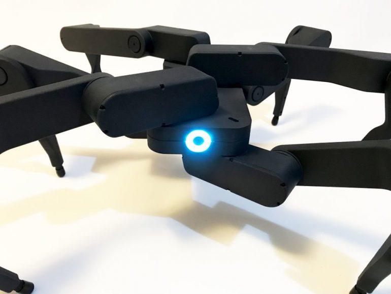 Видео дня: танцующий робот-гексапод, созданный китайской компанией Robugtix