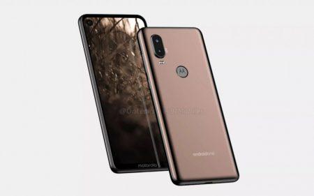 Появились изображения и видео смартфона Motorola P40 с «дырявым» экраном и широченным «подбородком»