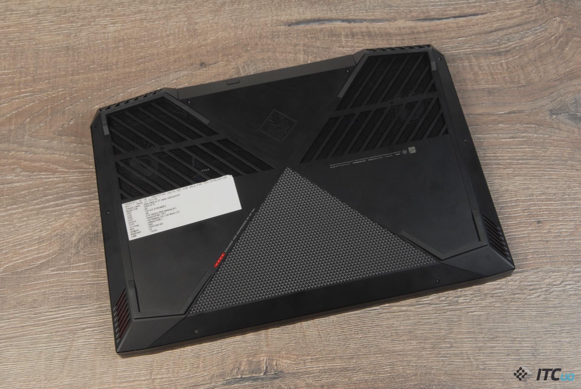 Обзор игрового ноутбука HP Omen 15 2018