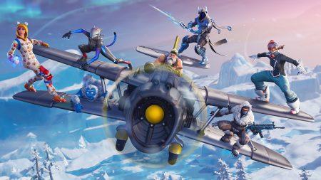 В Fortnite стартовал седьмой сезон с зимними событиями и новым творческим режимом