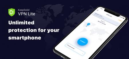 KeepSolid выпустил бесплатное приложение VPN Lite для iOS и Android, которое работает без регистрации и рекламы