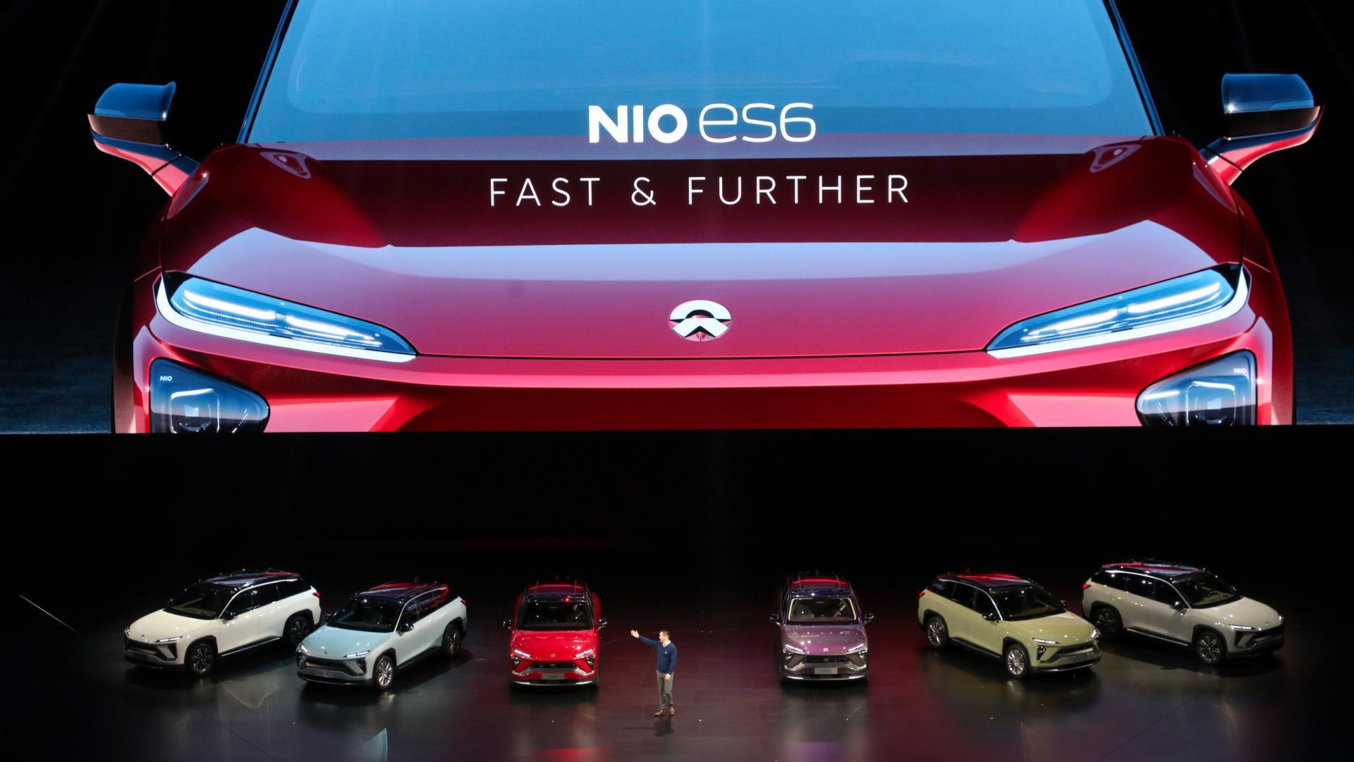 В КНР представлен электромобиль Nio ES6 сзапасом хода до510км