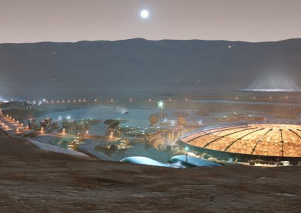 Project Eagle – посетите город на Марсе