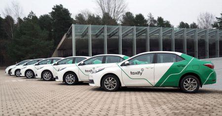 В Харькове начал работать европейский сервис по заказу такси Taxify