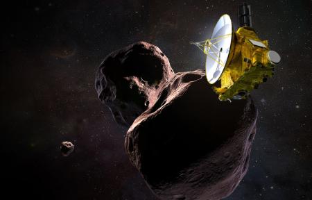 В новогоднюю ночь зонд New Horizons подойдёт на минимальную дистанцию к астероиду Ультима Туле и приступит к его детальному изучению