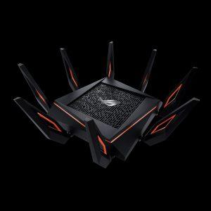 Начались продажи ASUS ROG Rapture GT-AX11000 — первого маршрутизатора Wi-Fi 802.11ax с суммарной пропускной способностью до 11 Гбит/с