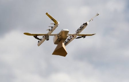 WSJ: Alphabet сделает дроны Wing тихими, поскольку те своим рёвом пугают людей и животных