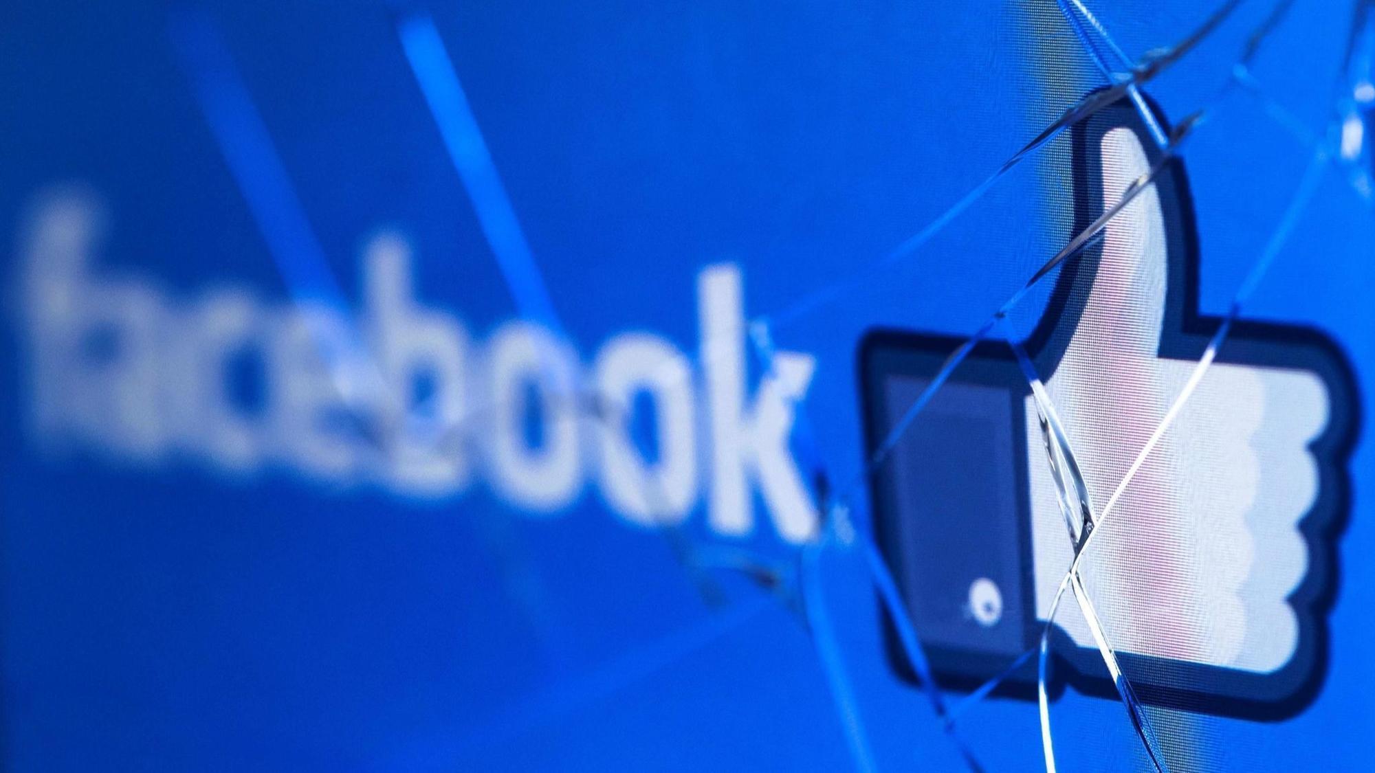 Повсей Европе вработе социальная сеть Facebook произошел сбой