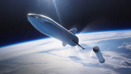Фото дня: тестовый корабльнового поколения SpaceX Starship. Первый запуск теперь ожидается гораздо раньше