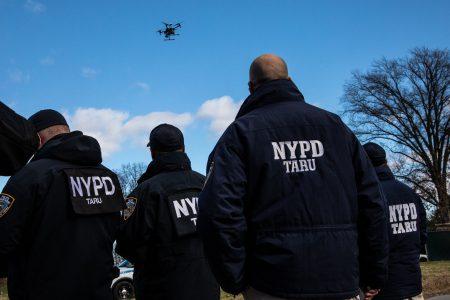 Полиция Нью-Йорка намерена частично заменить вертолеты БПЛА