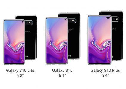Производитель защитных чехлов раскрыл особенности дизайна смартфона Samsung Galaxy S10 в трёх модификациях