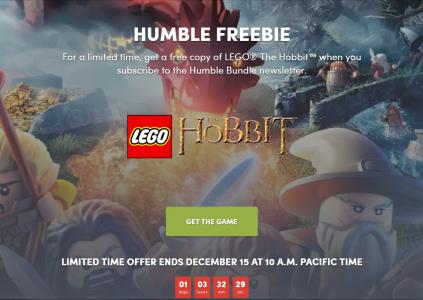 В Humble Bundle бесплатно раздают игру LEGO The Hobbit