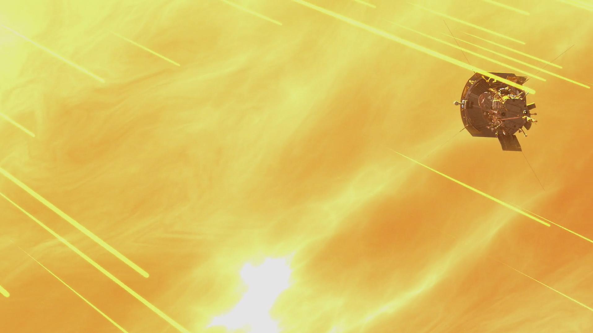 Зонд Parker сделал снимок короны Солнца