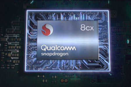 Qualcomm представила «бескомпромиссную» 7-нм SoC Snapdragon 8cx для ноутбуков на Windows и утверждает, что при вдвое меньшем энергопотреблении она ничем не уступает актуальным чипам Intel Core U-серии