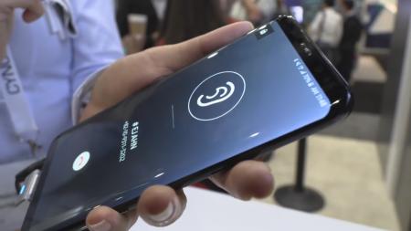На выставке CES 2019 компания Samsung покажет «говорящие»экраны OLED для смартфонов, передающие звук посредством вибраций