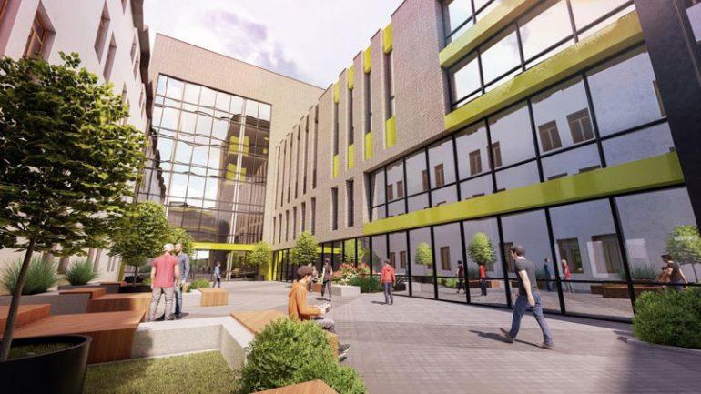 Во Львове хотят построить образовательный IT-комплекс площадью 10 тыс. кв. м за $10 млн