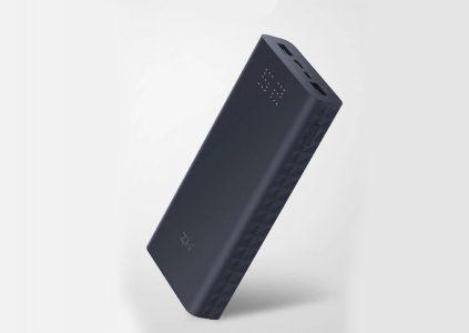 Xiaomi выпустила павербанк 20000mAh ZMI Aura с поддержкой зарядки двух устройств. Его оценили в $29