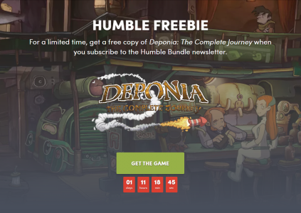 В Humble Bundle бесплатно раздают Deponia: The Complete Journey, а в Epic Games Store – сборник The Jackbox Party Pack