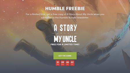 В Humble Bundle бесплатно раздают платформер A Story About My Uncle