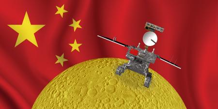Китайский зонд-ретранслятор «Цюэцяо» сфотографировал Землю и обратную сторону Луны