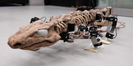 OroBOT — роботизированная модель существа из доисторической эпохи
